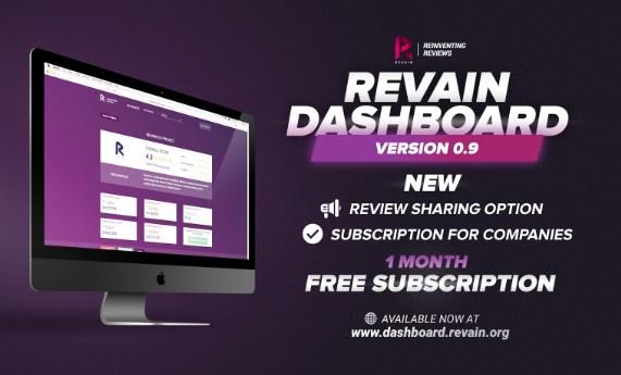 Revain Launches Premium Subscription In Version 0.9 Release